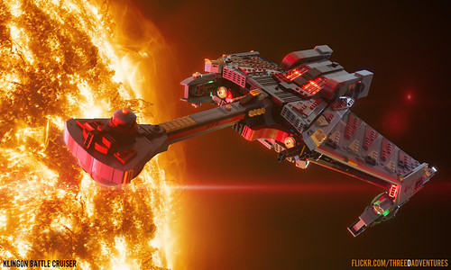 "Klingon Battle Cruiser | by Ben ""Spaceship!"" Smith"
