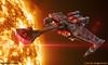 "Klingon Battle Cruiser by Ben ""Spaceship!"" Smith"