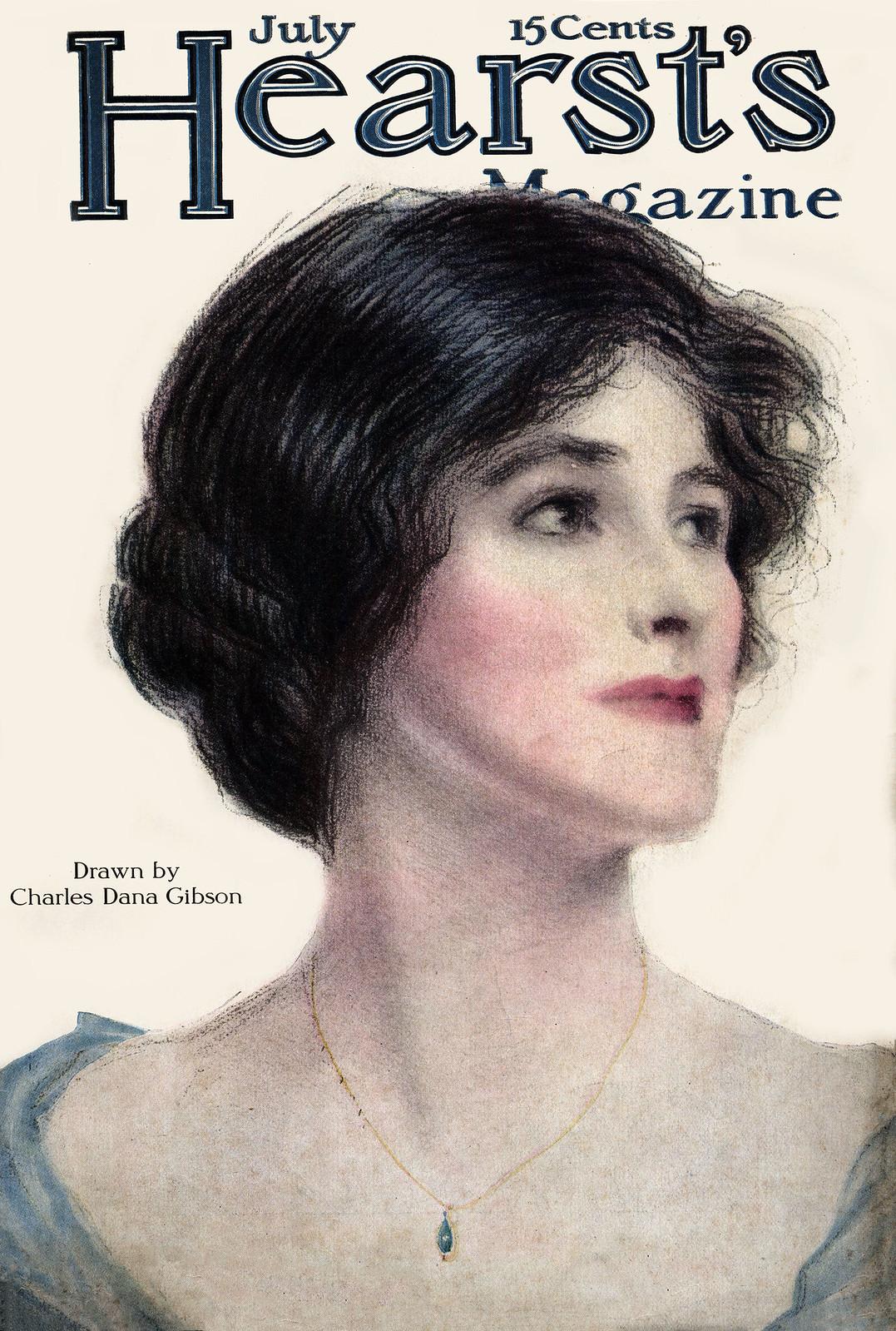 Hearst's v24 n07 [1913-07] cover