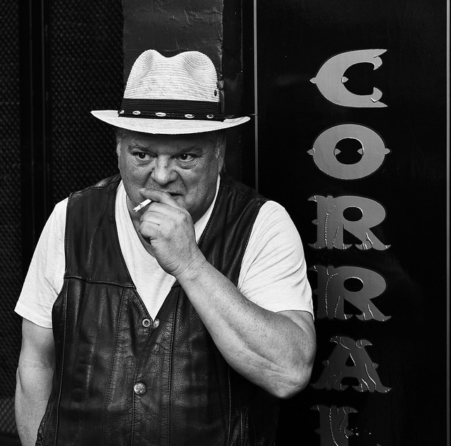 Cigarette at the Corral
