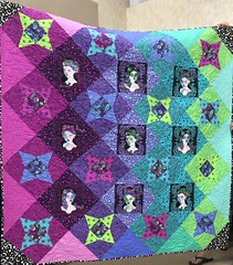 Candy's Tula Pink quilt
