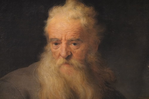 Rembrandt, The Apostle Paul; 1633 or 1635; Kunsthistorisches Museum, Vienna (1)   by Prof. Mortel