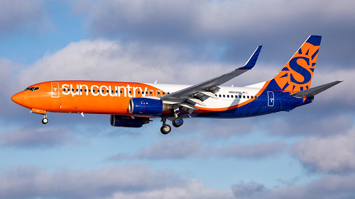 minneapolisstpaulinternationalairport msp kmsp mspairport suncountry scx suncountryair aviation avgeek planespotting boeing 737 b738 73783n n831am