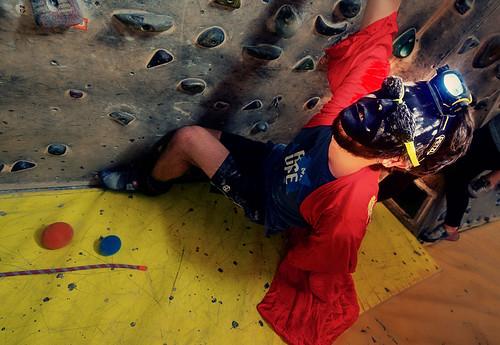 Fantasyclimbing corso di arrampicata il deposito di zio Paperone 30