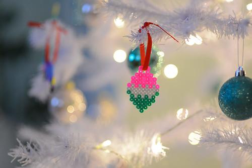 DIY Hama bead Christmas ornaments | by jutta / kootut murut