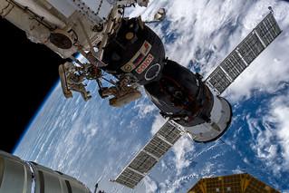 Russian spacewalk | by Astro_Alex