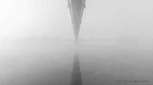 Bridge on the river Sava