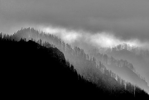 Dark Moods of the Columbia River Gorge