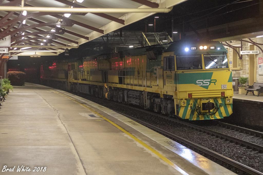 CEY005 'Newcastle', CEY001 'Port Kembla', CEY004 'Kandos' AR01 by Greensleeves.94
