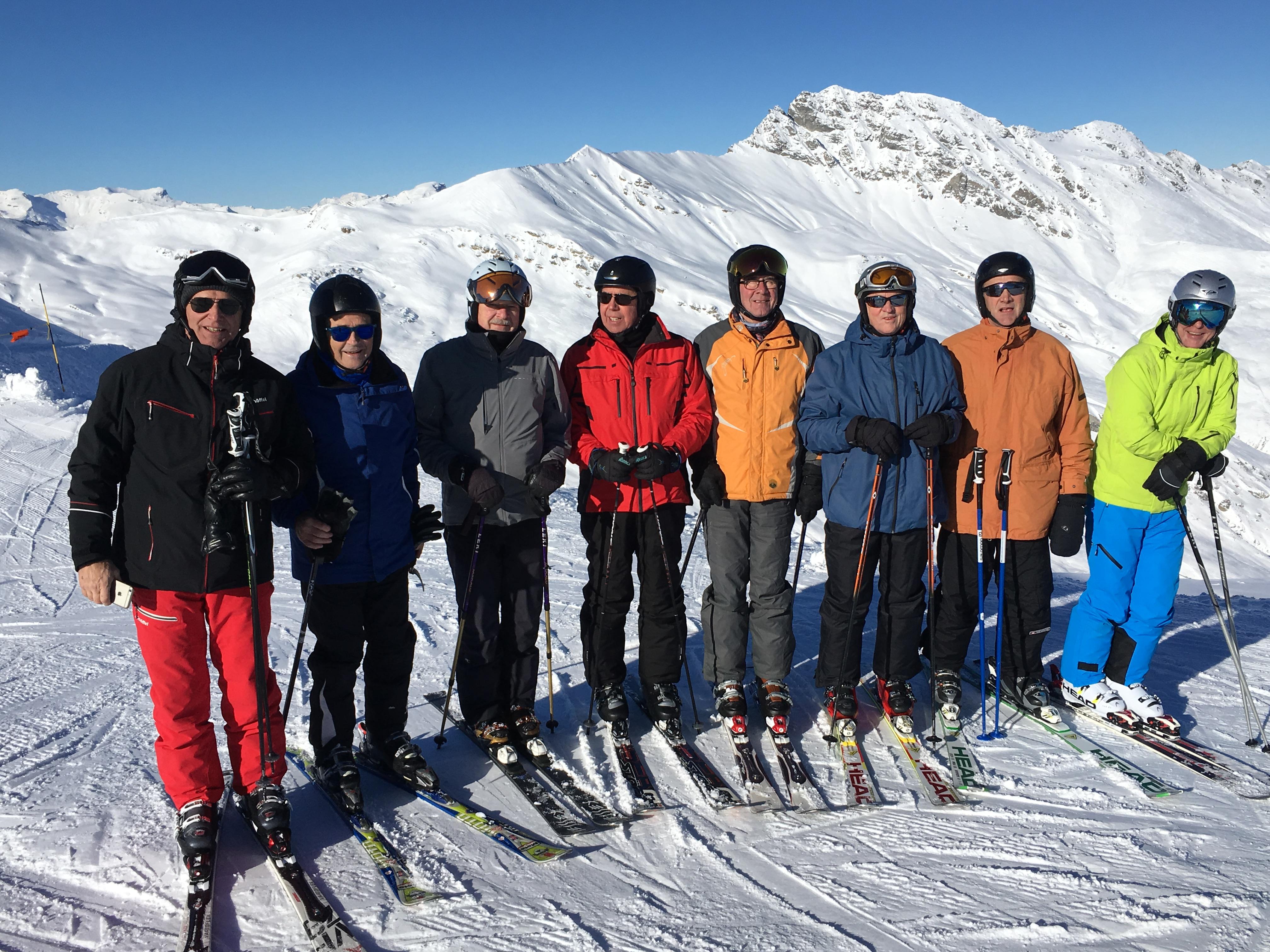 Skiweekend 15./16. Dez.2018 in Savognin