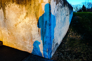 Sunset at the retaining wall, Baltimore, MD, USA.   by Mintzography