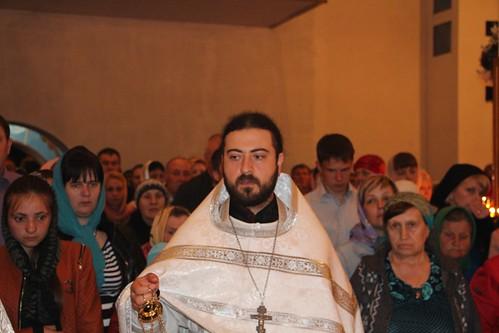 Пасхальное Богослужение в Свято-Никольском храме станицы Кавказской IMG_1198