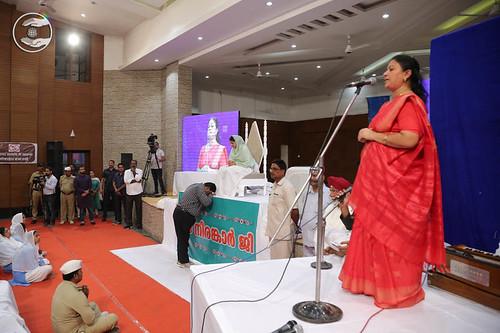Municipal Councilor Kochi, Ms. Sangeeta seeking blessings