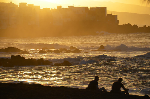 Sunset, Punta Brava, Puerto de la Cruz,  Tenerife | by BuzzTrips