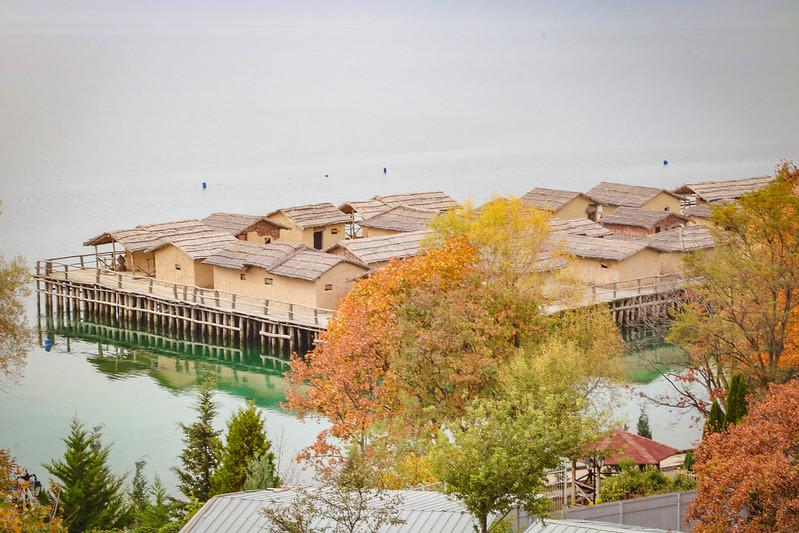 Lac d'Ohrid, Macédoine