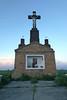 Am Kalvarienberg, dem Wahrzeichen der Gemeinde