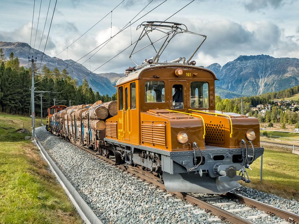 RhB G2 2/2 Rangier-Lok von 1911   Wird immer noch täglich im