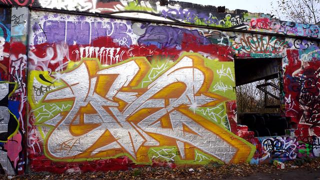 Oldenburg - (street: Melkbrink) 694th picture / Graffiti, street art