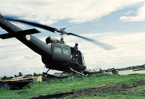 Huey helicopters during Vietnam War - an album on Flickr