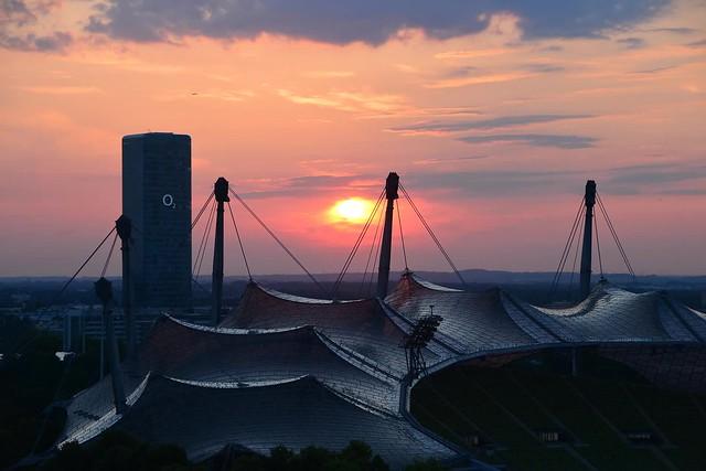 Munich - Sunset Timelapse