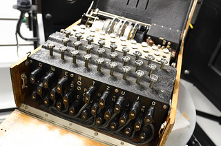 Enigma Machine | by School of Mathematics - University of Manchester