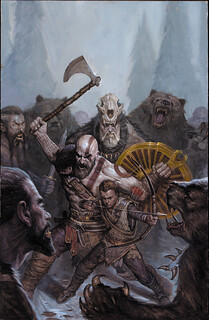 God of War prequel comic | by PlayStation.Blog