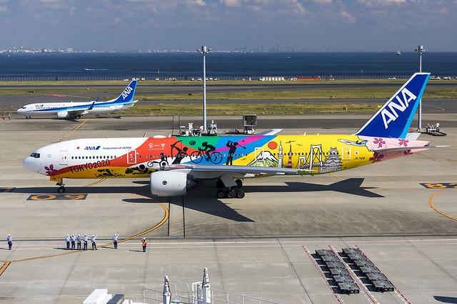All Nippon Airways   JA741A