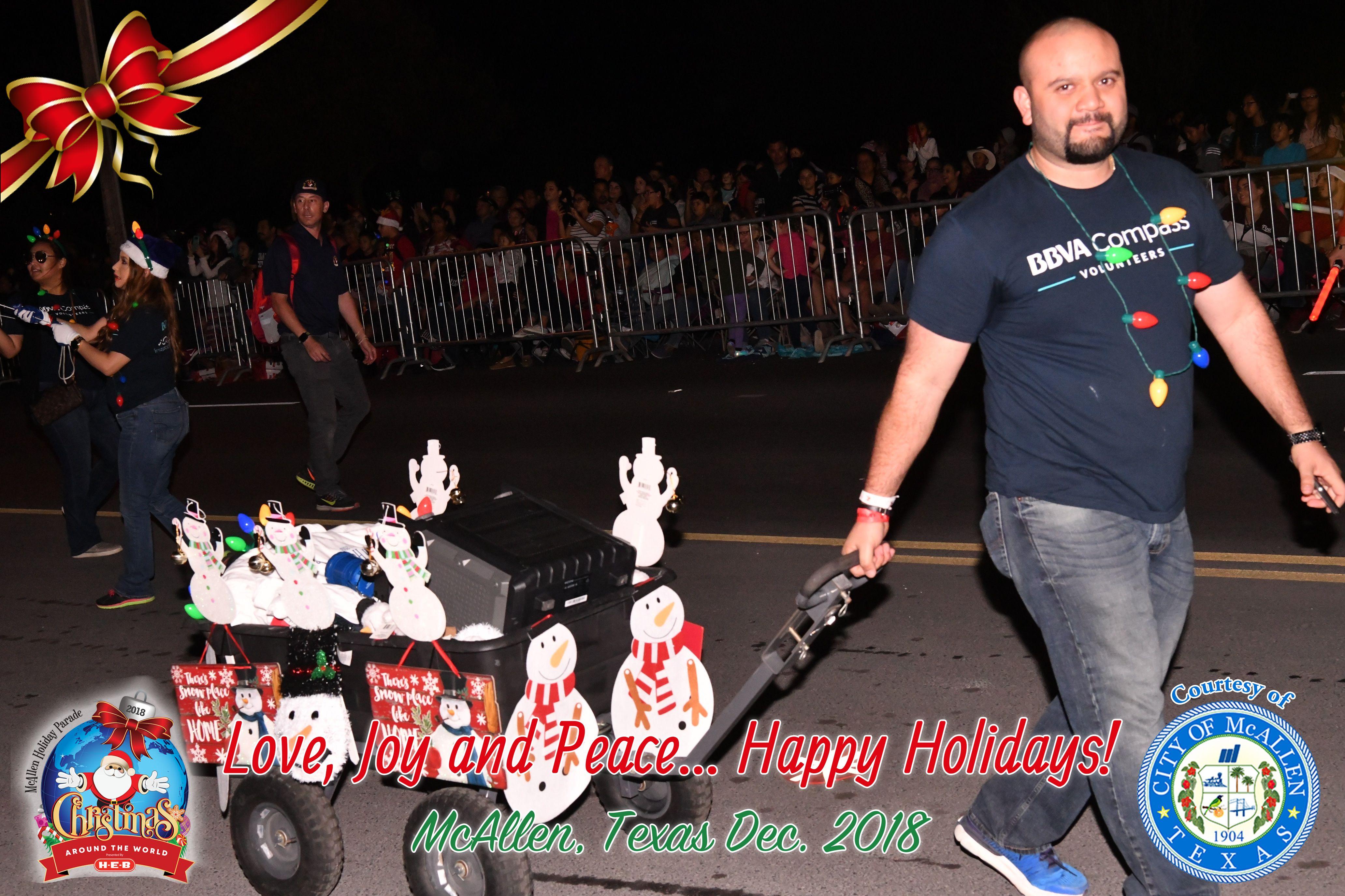 McAllen Holiday Parade 2018 — Part 3