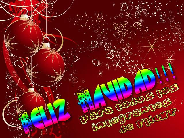 Feliz navidad FlicKr