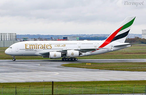 F-WWSK Airbus A380 Emirates | by @Eurospot