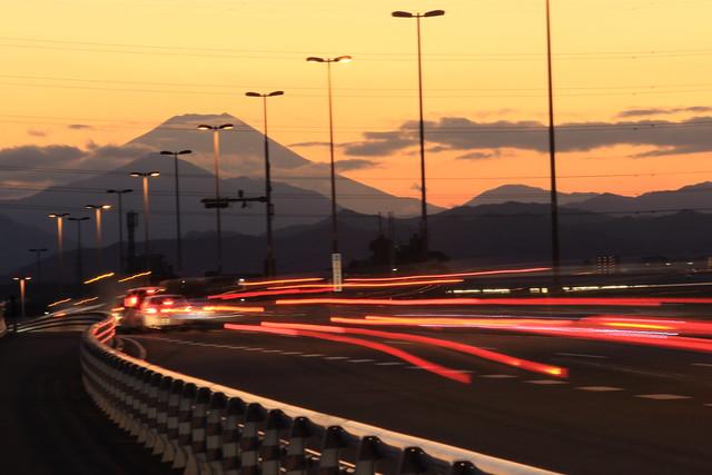 The Road to Mt.Fuji