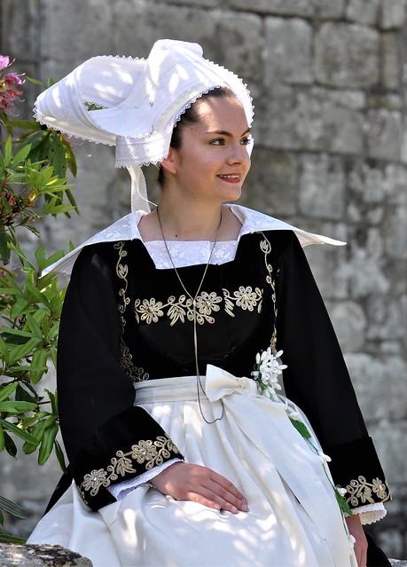 Costume de mariée  fin XIXème Fouesnant