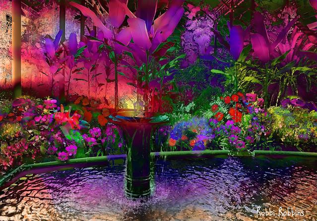 Tropical Fountain
