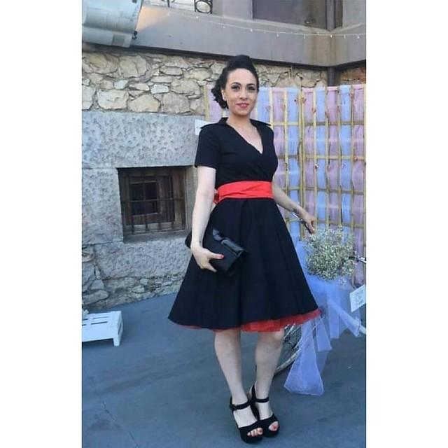 En El Secreto de Carol ¡Tú eres la protagonista!  Una fotografía de Sheila con un vestido vintage de @elsecretodecarol ¡Gracias por compartirla! ¿Te animas a enviarnos tu foto?  #elsecretodecarol #tuereslaprotagonista #elespejo #puertadelsol #madrid #vest