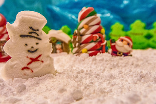 Peep Snowman