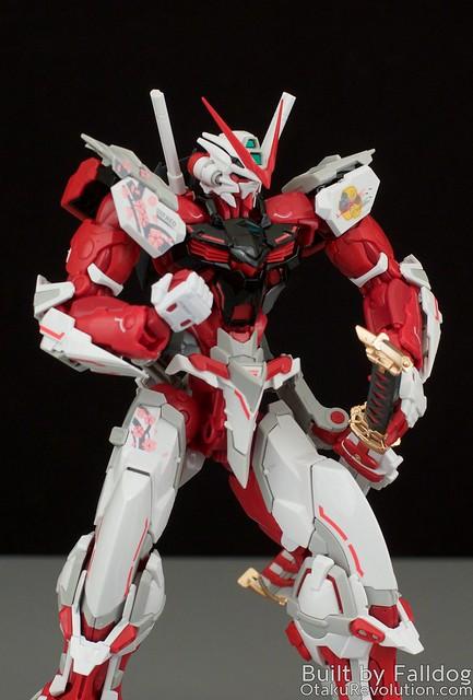 HiRM Astray Red Frame Gundam 34