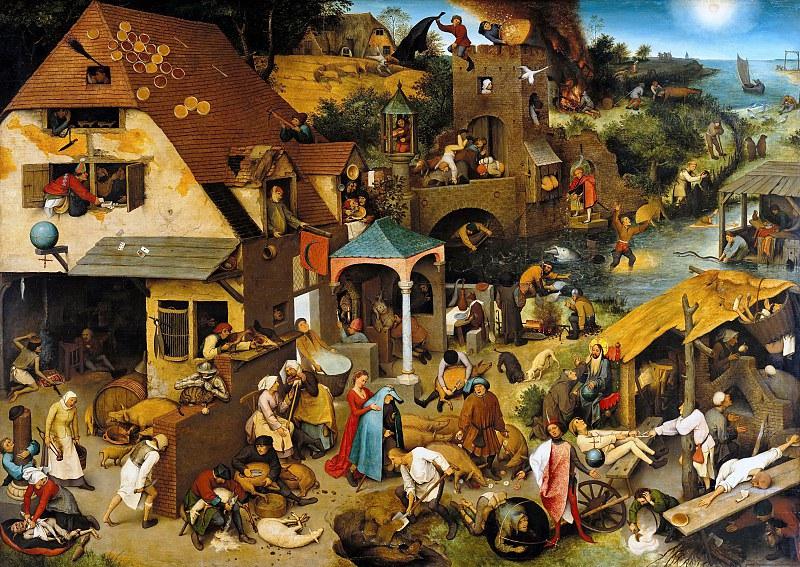 Фламандские пословицы,  1559