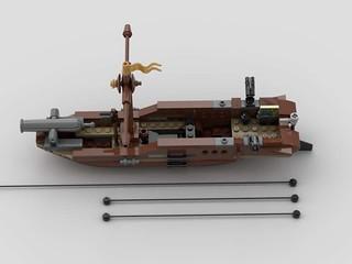Gunboat #1   by CommanderJonny1
