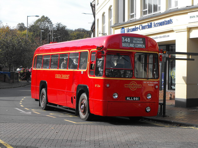 RF 354, MLL 991, AEC Regal IV @ Chesham 2018 (3)