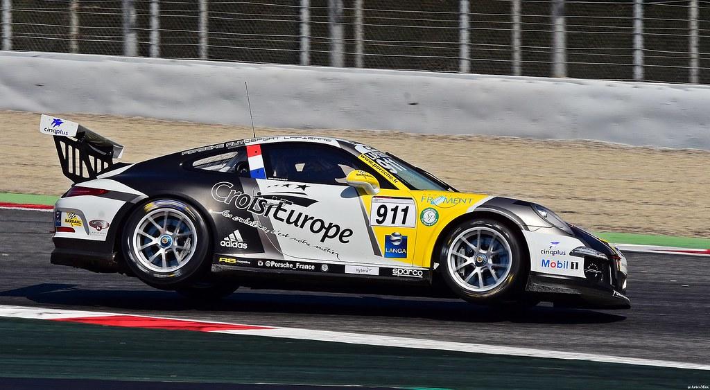 Porsche 911 Gt3 Cup Christophe Lapierre Sebastien Loeb Flickr