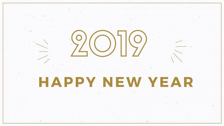 Happy New Year 2019 : Happy New Year 2019 HD Wallpapers 3D