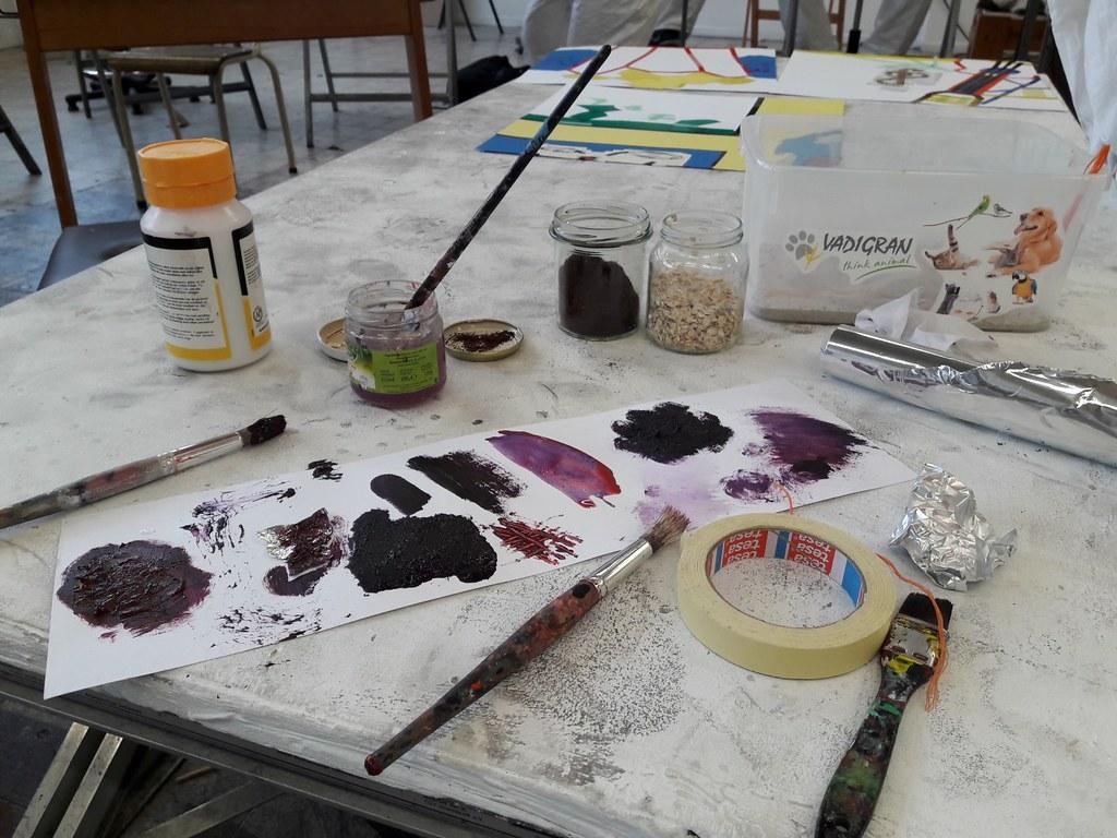 sessie 3 schilderen op doek (15)
