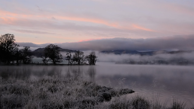 A very chilly start of the day