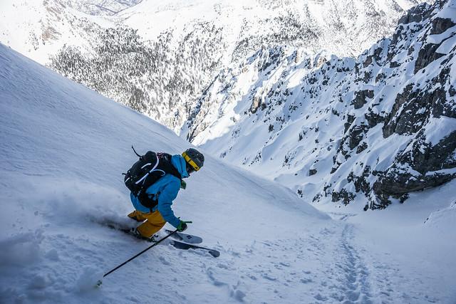 Monte Rosa - Aosta, Freeride standplaatstocht