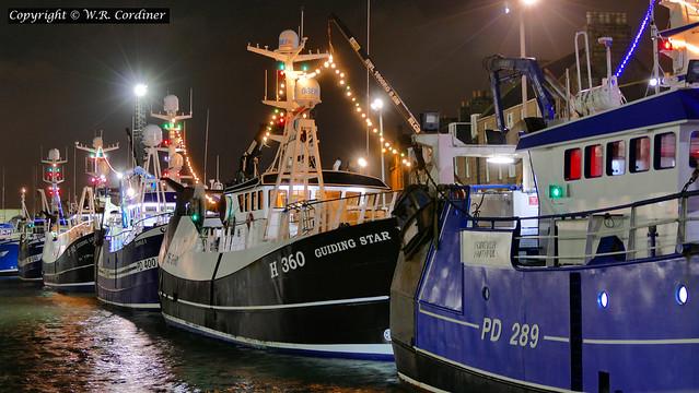 Peterhead Harbour at Christmas (2)