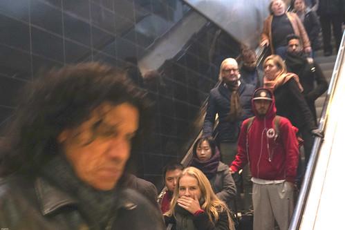 Amsterdam CS: escalator