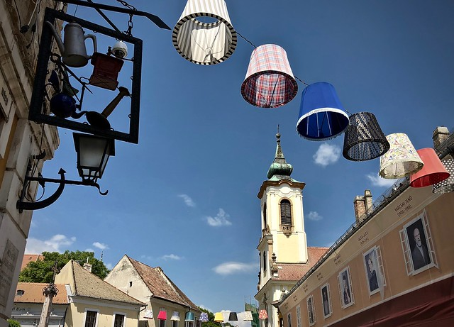 Lampshades in Szentendre 3