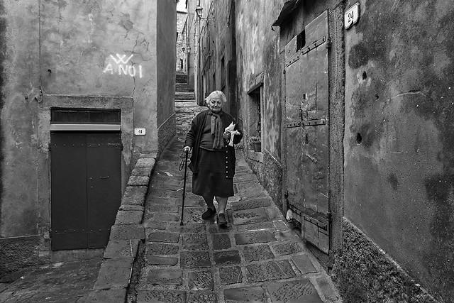Montelaterone - La Signora Nastasia