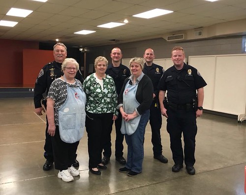 Speedway United Methodist Church Serves Breakfast to SPD Officers   by speedwaycommunitypolicing