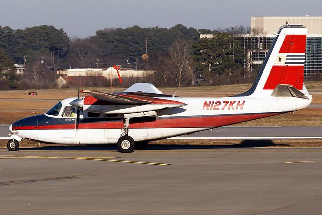 N127KH - Aero Commander 500-B -Central Airlines Inc. - KPDK - Jan 2019